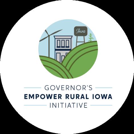 Governor's Empower Rural Iowa Initiative logo